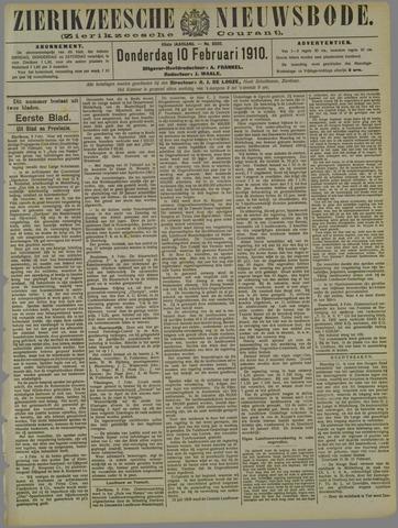 Zierikzeesche Nieuwsbode 1910-02-10