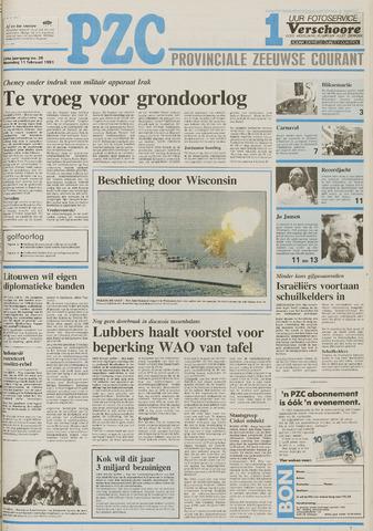 Provinciale Zeeuwse Courant 1991-02-11