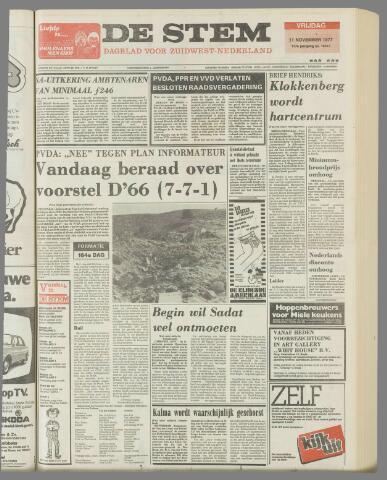de Stem 1977-11-11