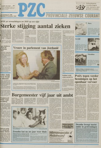 Provinciale Zeeuwse Courant 1993-11-10