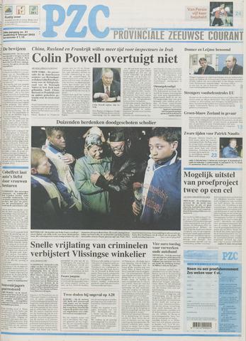 Provinciale Zeeuwse Courant 2003-02-06