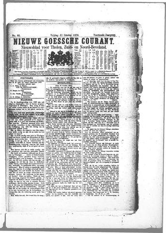 Nieuwe Goessche Courant 1879-10-31