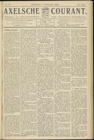 Axelsche Courant 1929