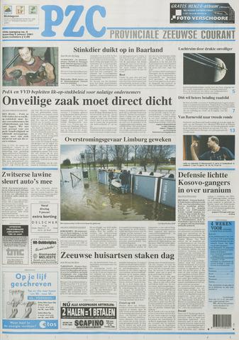 Provinciale Zeeuwse Courant 2001-01-08