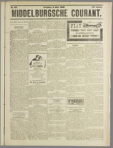 Middelburgsche Courant 1925-05-08
