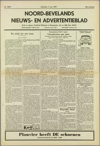 Noord-Bevelands Nieuws- en advertentieblad 1957-05-11