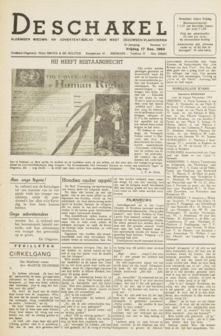 De Schakel 1954-12-17