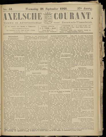 Axelsche Courant 1921-09-28
