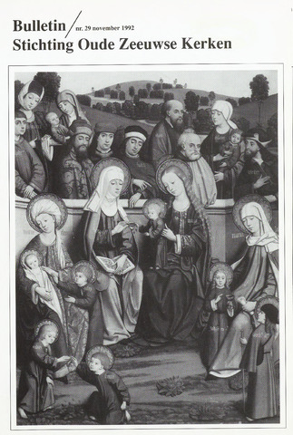 Bulletin Stichting Oude Zeeuwse kerken 1992-11-01