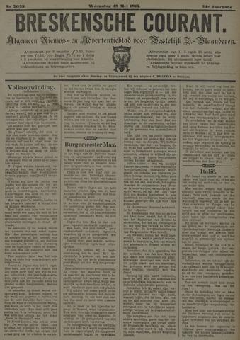 Breskensche Courant 1915-05-19