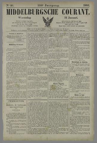 Middelburgsche Courant 1883-01-31