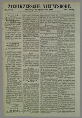 Zierikzeesche Nieuwsbode 1888-12-25
