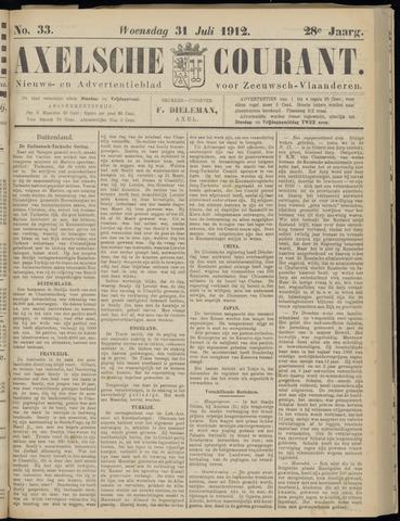 Axelsche Courant 1912-07-31
