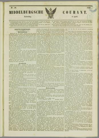 Middelburgsche Courant 1847-04-03