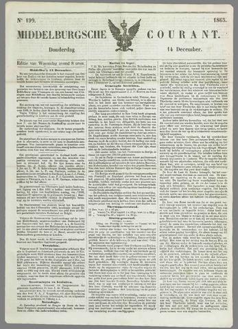Middelburgsche Courant 1865-12-14