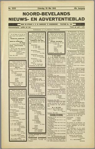 Noord-Bevelands Nieuws- en advertentieblad 1945-05-26