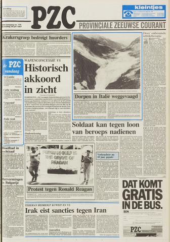 Provinciale Zeeuwse Courant 1987-07-29