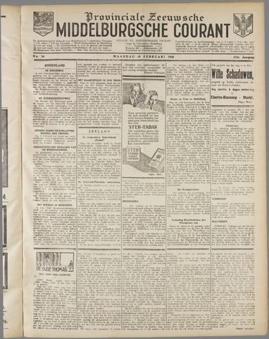 Middelburgsche Courant 1930-02-10