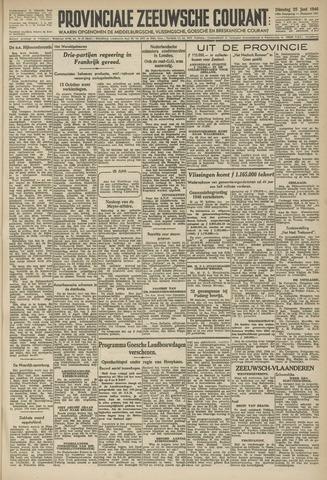 Provinciale Zeeuwse Courant 1946-06-25