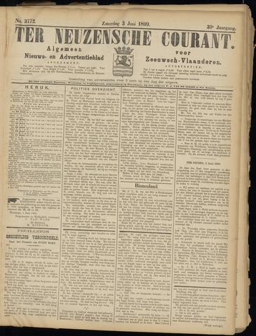 Ter Neuzensche Courant. Algemeen Nieuws- en Advertentieblad voor Zeeuwsch-Vlaanderen / Neuzensche Courant ... (idem) / (Algemeen) nieuws en advertentieblad voor Zeeuwsch-Vlaanderen 1899-06-03