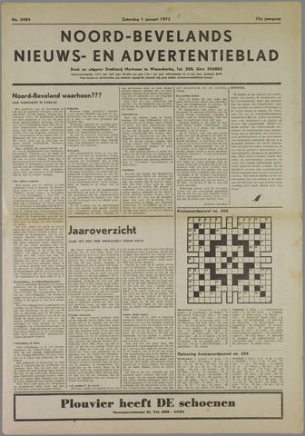 Noord-Bevelands Nieuws- en advertentieblad 1972