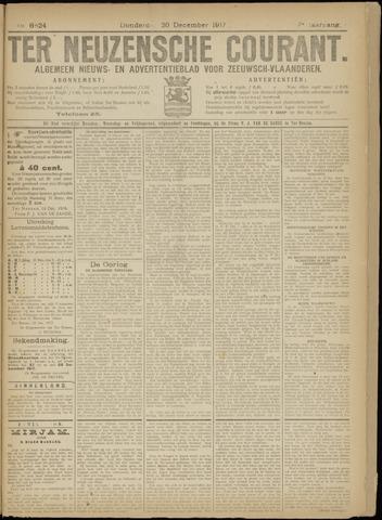 Ter Neuzensche Courant. Algemeen Nieuws- en Advertentieblad voor Zeeuwsch-Vlaanderen / Neuzensche Courant ... (idem) / (Algemeen) nieuws en advertentieblad voor Zeeuwsch-Vlaanderen 1917-12-20