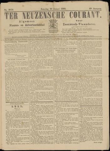Ter Neuzensche Courant. Algemeen Nieuws- en Advertentieblad voor Zeeuwsch-Vlaanderen / Neuzensche Courant ... (idem) / (Algemeen) nieuws en advertentieblad voor Zeeuwsch-Vlaanderen 1900-01-20
