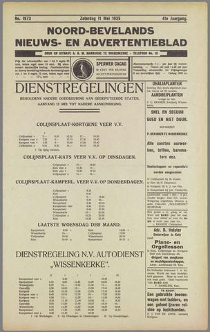 Noord-Bevelands Nieuws- en advertentieblad 1935-05-11