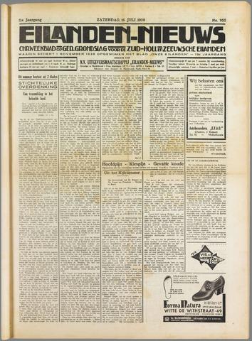 Eilanden-nieuws. Christelijk streekblad op gereformeerde grondslag 1938-07-16