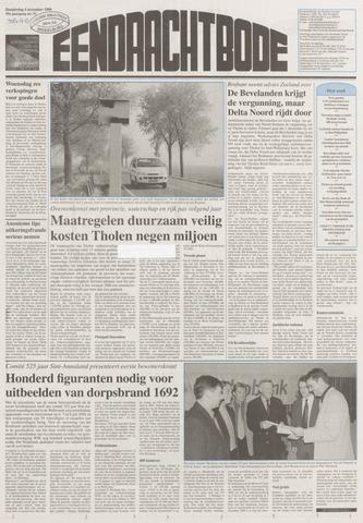 Eendrachtbode (1945-heden)/Mededeelingenblad voor het eiland Tholen (1944/45) 1999-11-04