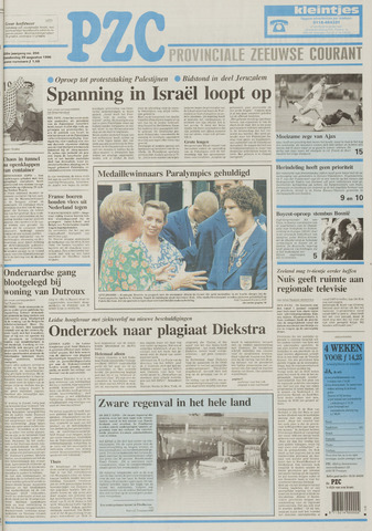 Provinciale Zeeuwse Courant 1996-08-29