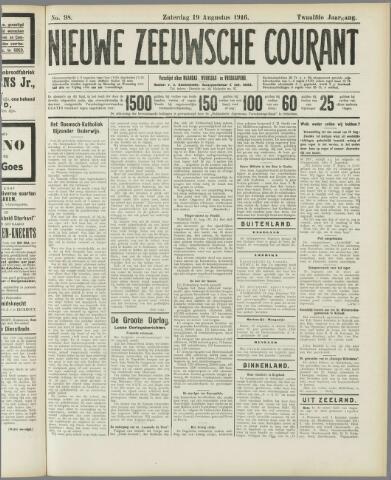 Nieuwe Zeeuwsche Courant 1916-08-19
