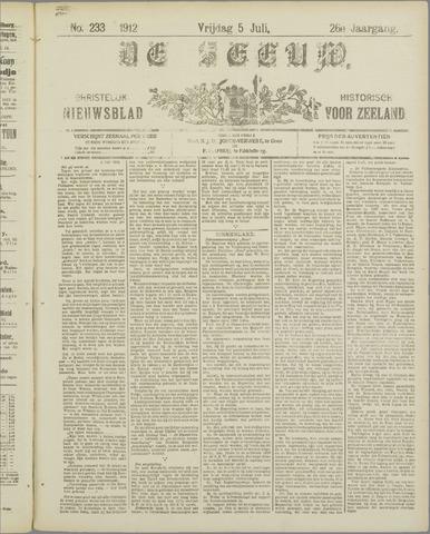 De Zeeuw. Christelijk-historisch nieuwsblad voor Zeeland 1912-07-05