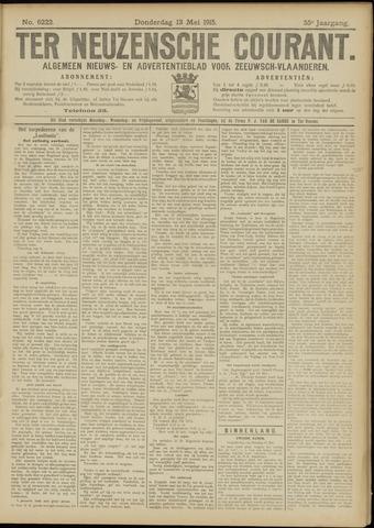 Ter Neuzensche Courant. Algemeen Nieuws- en Advertentieblad voor Zeeuwsch-Vlaanderen / Neuzensche Courant ... (idem) / (Algemeen) nieuws en advertentieblad voor Zeeuwsch-Vlaanderen 1915-05-13