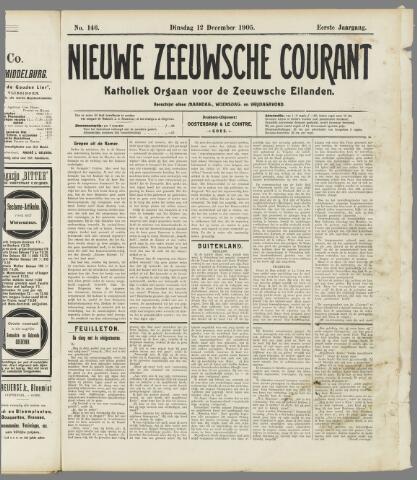 Nieuwe Zeeuwsche Courant 1905-12-12