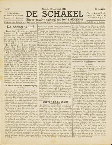 De Schakel 1945-08-20