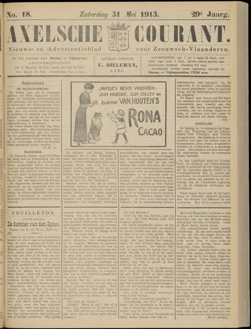 Axelsche Courant 1913-05-31