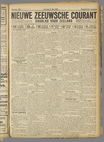 Nieuwe Zeeuwsche Courant 1923-05-08