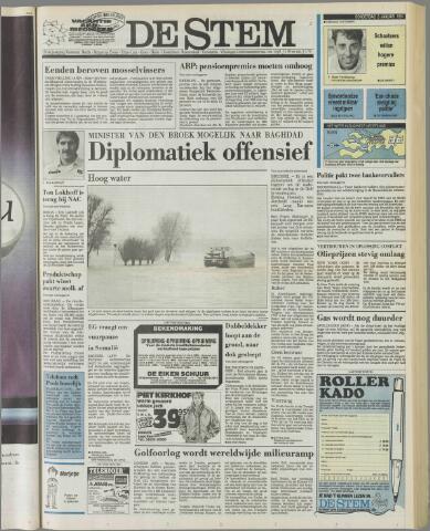 de Stem 1991-01-03