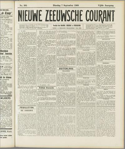 Nieuwe Zeeuwsche Courant 1909-09-07