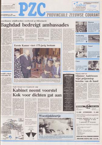 Provinciale Zeeuwse Courant 1990-08-25