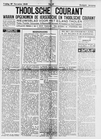 Ierseksche en Thoolsche Courant 1942-11-27