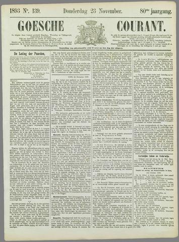 Goessche Courant 1893-11-23