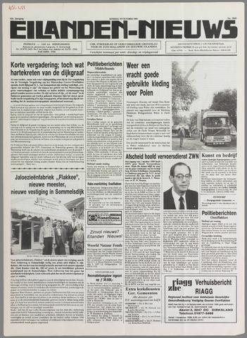 Eilanden-nieuws. Christelijk streekblad op gereformeerde grondslag 1989-10-10