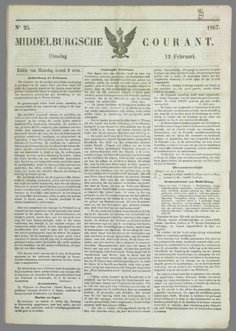 Middelburgsche Courant 1867-02-12