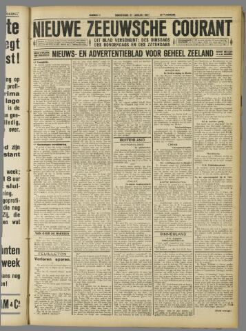Nieuwe Zeeuwsche Courant 1927-01-27