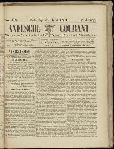 Axelsche Courant 1891-04-25