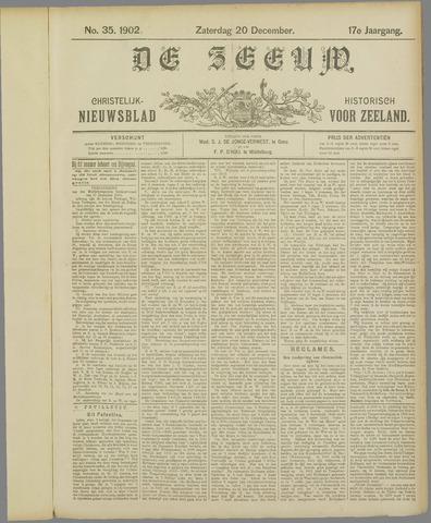 De Zeeuw. Christelijk-historisch nieuwsblad voor Zeeland 1902-12-20