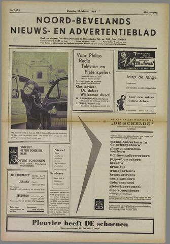 Noord-Bevelands Nieuws- en advertentieblad 1965-02-20