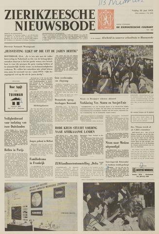 Zierikzeesche Nieuwsbode 1973-06-22